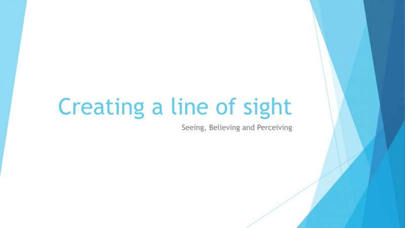 Creating A Line of Sight Banner